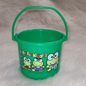 Sanrio Keroppi Vintage Bucket Pail Container
